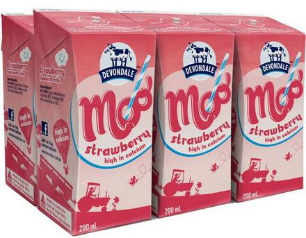 Sữa Devondale dâu