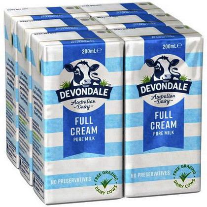 Sữa Devon 200ml (Vani)
