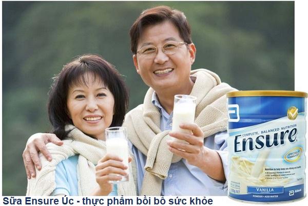 Sữa Ensure- Thức uống dinh dưỡng thích hợp dành cho người lớn