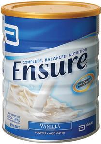 Sữa bột Ensure Úc vàng hộp 850gr