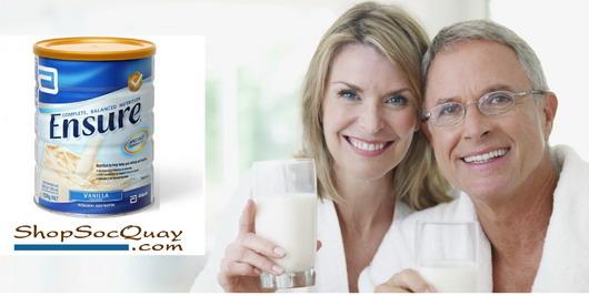 Sữa Ensure Úc- thức uống dinh dưỡng cho người già