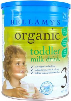 Sữa Bellamy Organic số 3
