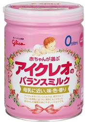 Sữa Icreo (sữa Glico) số 0 - sản phẩm dành cho bé từ 0-9 tháng