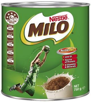 Sữa Milo Úc – hộp 750g