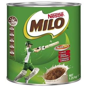 Sữa Milo – Úc hộp 1,25kg