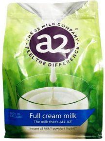 Sữa nguyên kem A2 Úc mẫu mới 2018