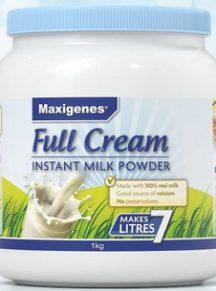 Sữa nguyên kem Maxigenes Úc - hộp 01 kg