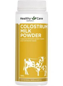 Sữa non Healthy Care (Colostrum Milk Powder) của Úc - mẫu mới 2020