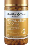Sữa ong chúa Úc Royal Jelly Healthy Care mẫu mới 2020