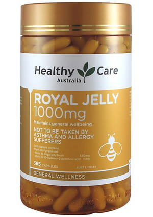 Sữa Ong chúa Royal Jelly HealthyCare 1000mg