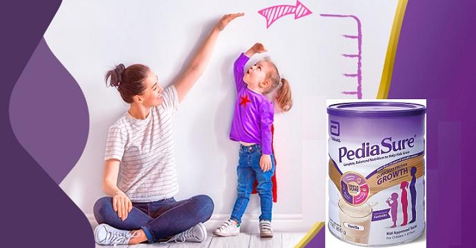 Sữa PediaSure Úc - Giải pháp tăng cân cho trẻ