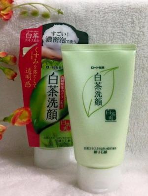 Sữa rửa mặt trà xanh Nhật Bản Rohto Shirochasou