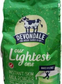 Sữa tách kem Devondale