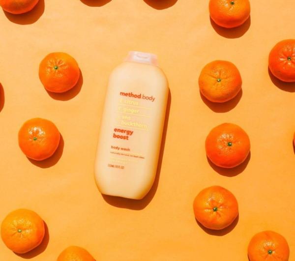 Sữa tắm dưỡng ẩm Method Energy boost (sữa tắm Method Cam)