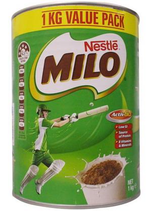 Sữa Milo Úc hộp 01kg