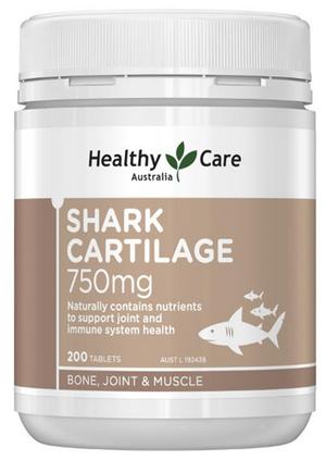 Sụn cá mập Úc HealthyCare 750mg