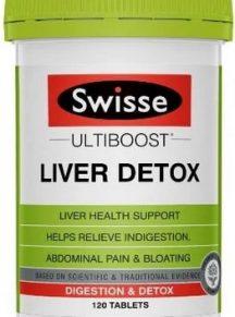 Thải độc gan Swisse Liver Detox hộp 120 viên