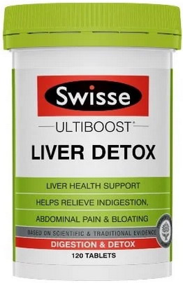 Thải độc gan Swisse Liver Detox