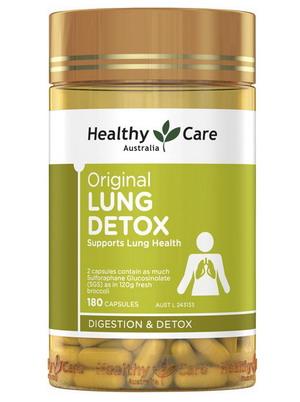 Thải độc phổi Úc Healthy Care Original Lung Detox