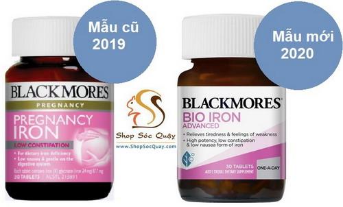 Sản phẩm sắt bầu blackmores mẫu mới 2020
