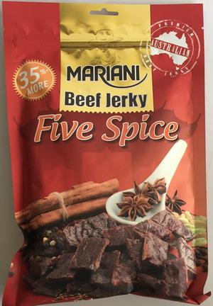Thịt bò khô Úc Mariani – Five Spice