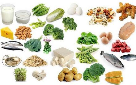 Thực phẩm chữa nhiều canxi cho trẻ