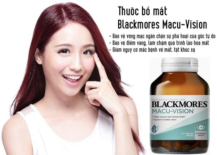 Thuốc bổ mắt Blackmores Macu-vision - CHo bạn đôi mắt sáng ngời
