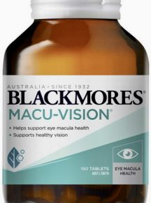 Thuốc bổ mắt macu vision blackmores 150 viên