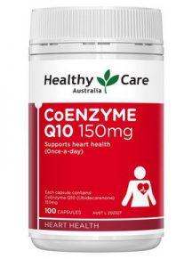 Thuốc Bổ Tim Healthy Care Coenzyme Q10 150mg - mẫu mới 2020