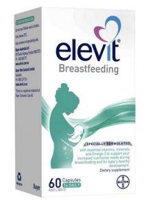 Thuốc Elevit sau sinh dành cho phụ nữ cho con bú - Mẫu mới 2021