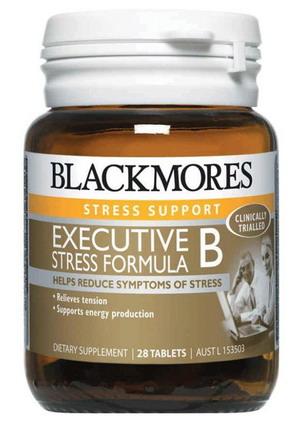 Thuốc giảm căng thẳng mệt mỏi Blackmores Executive B