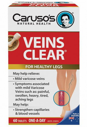 Thuốc Veins Clear chống suy giãn tĩnh mạch