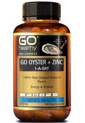 Tinh chất hàu Go Oyster Plus Zinc (120 viên)
