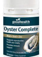 Tinh chất Hàu Oyster Complete GoodHealth - hộp 30 viên