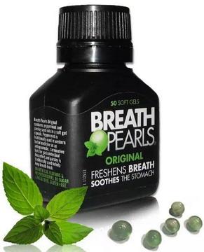 Viêm ngậm thơm miệng Breath Pearls – Úc