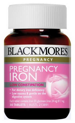 Viên uống bổ sung sắt cho bà bầu Blackmores Pregnancy Iron - 30 viên
