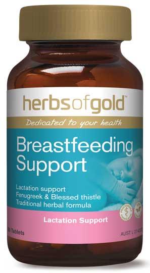 Vien lợi sữa Herbs of Gold Breastfeeding Support