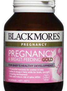 Vitamin cho bà bầu Úc BlackMores Pregnancy and Breast feeding - Úc