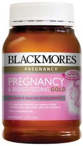 vitamin cho bà bầu Blackmores Pregnancy & Breastfeeding Gold mẫu cũ 2019