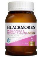 Vitamin Blackmores bầu Pregnancy & Breast-Feeding Gold mẫu mới 2020