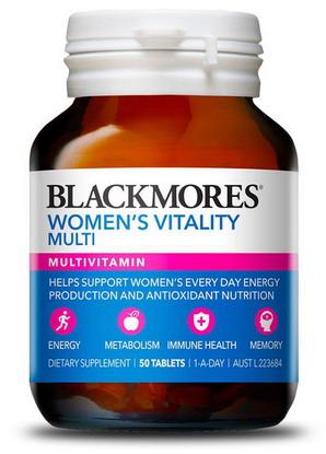 Vitamin Tổng hợp cho Phụ nữ Blackmores - hộp 50 viên