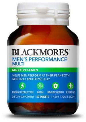 Vitamin Tổng hợp cho Nam giới Blackmores - hộp 50 viên