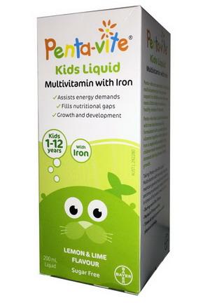 Vitamin Pentavite Úc 1-12