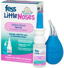 Xịt và Hút mũi Fess Little Noses